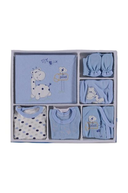Giraffe Pattern Affordable Girls Boys Baby Hospital Exit Set of 16s 16423