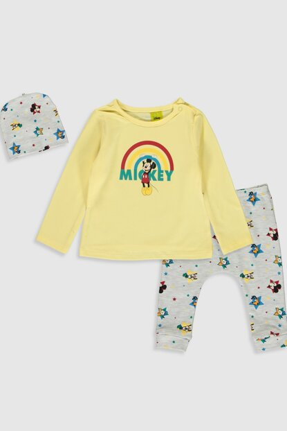 Baby Boy Snow Melange 847 Sets 3 Pieces 9WH141Z1