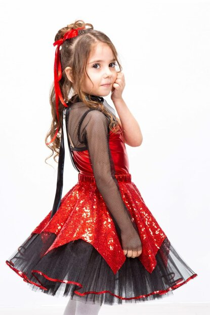 Modern Dance 10 Age Girl Costume ST00007-9