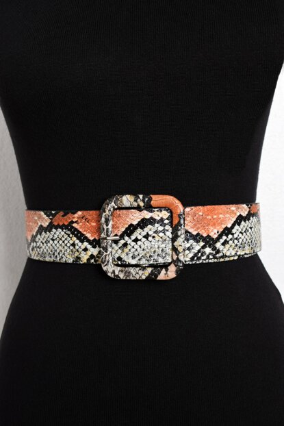 Women's Multi Snake Patterned Belt BE217