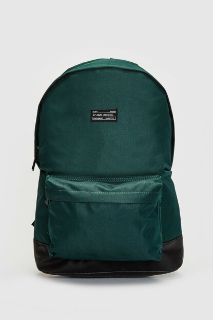 Men's Medium Green Backpack 9WH035Z8