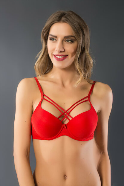 Red Women's Support Bra.