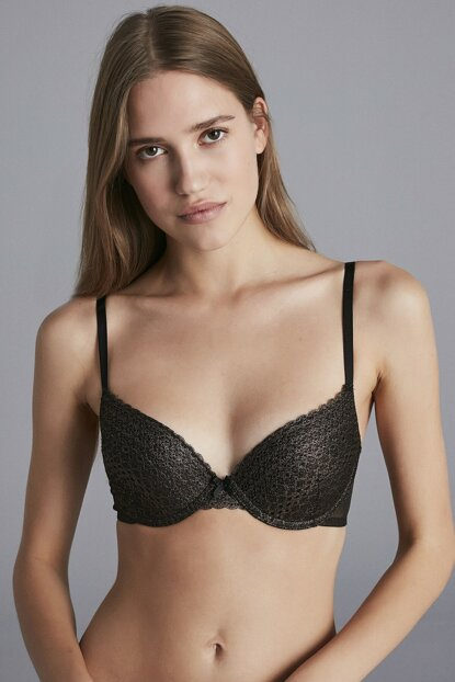 Women's Copper Black Crash Bra PLFYSUCB19SK-CPL