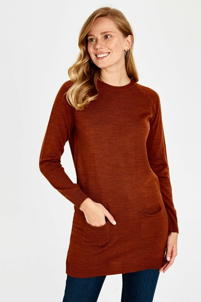 Women's Tile Coffee Tunic 9WA145Z8