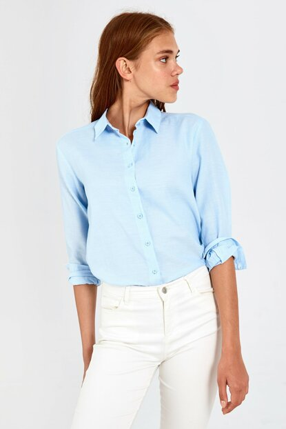 Women's Blue Shirt 0SI771Z8