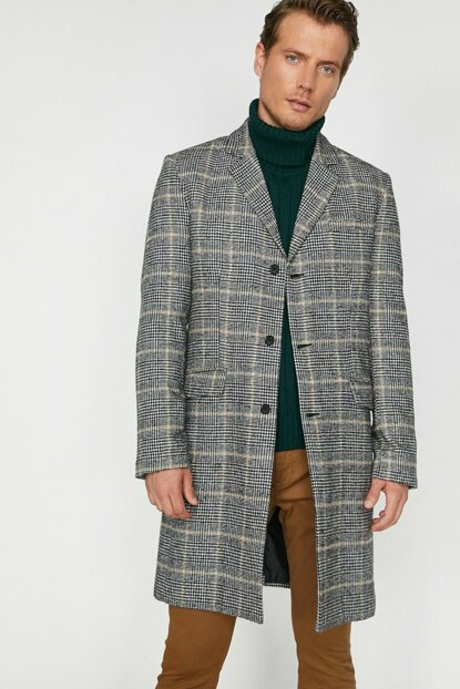 Checked Coat 0KAM01481HW