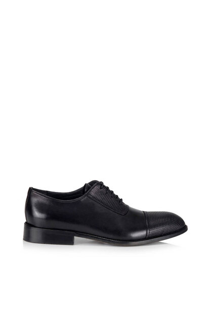 Genuine Leather Black Men Shoes 02AYH118360A100