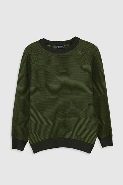 Boy Green J1W Sweater 9W8674Z4