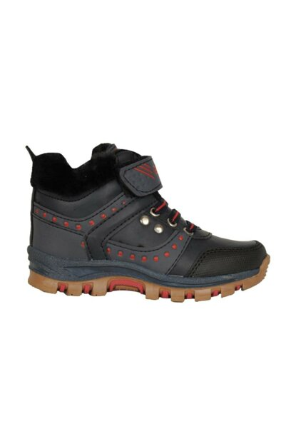 2828 Navy Blue Velcro Thermal Winter Boy Child Boots Shoes ST03457