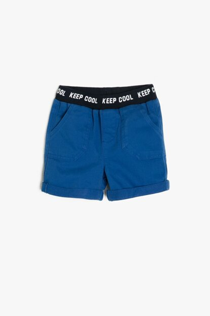 Blue Baby Boy Shorts 8YMB48433ZW