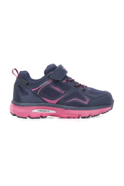 Waterproof Navy Blue Fuchsia Children Shoes MELDON