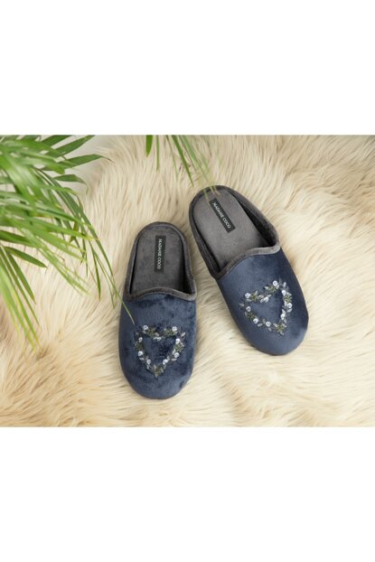 Lili Women's Slipper - Navy Blue 1KTERL0338-8682116138000