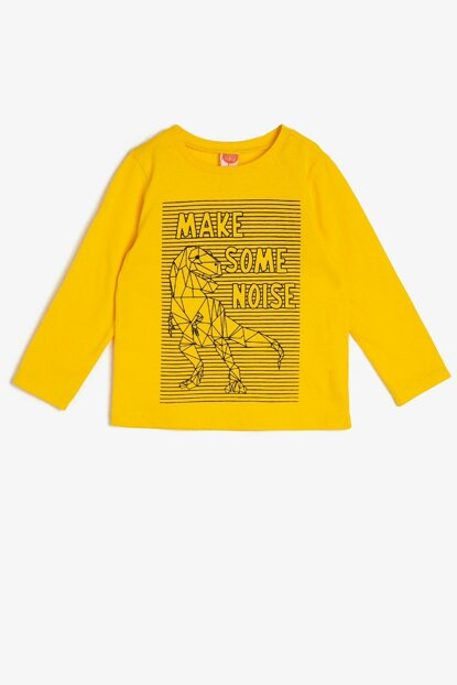 Yellow Boy Printed T-Shirt 0KMB18975OK