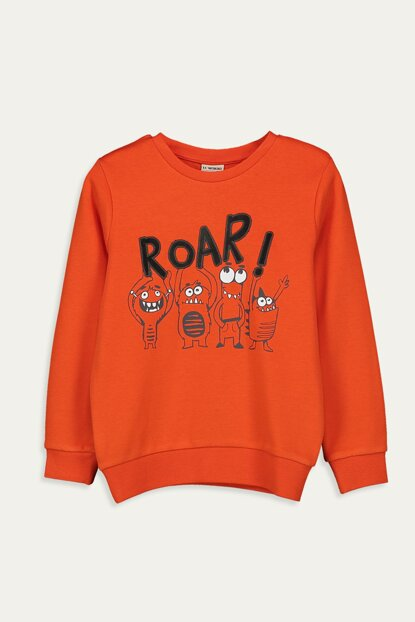 Boy Lifelike Orange Grm T-shirt 9W8495Z4