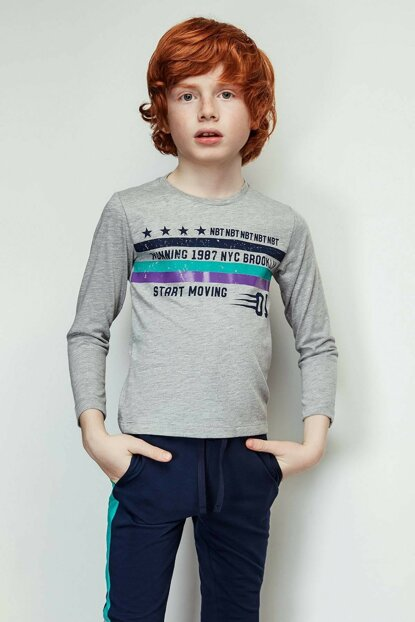 Boys White T-shirt 19FW2NB3547