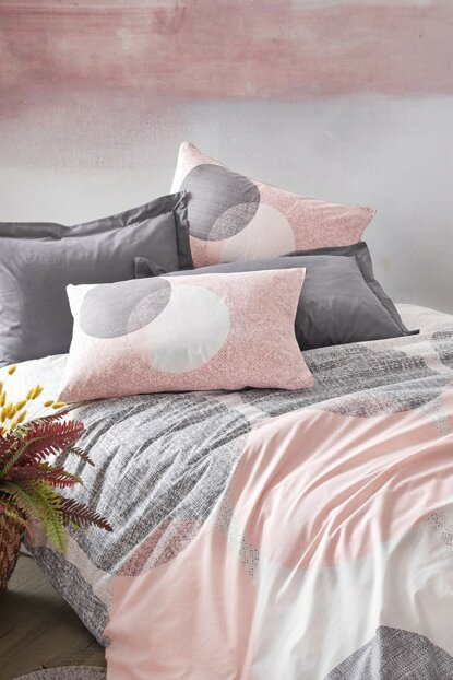 Ranforce Single Bed Linen Set - Leron Gray 1176844027051