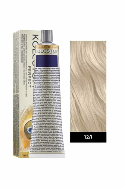 Hair Color - Koleston Perfect 12.1 Platinum with Extra Ash 4015600183202