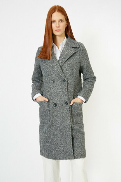 Women's Anthracite Coat 0KAK06697EW