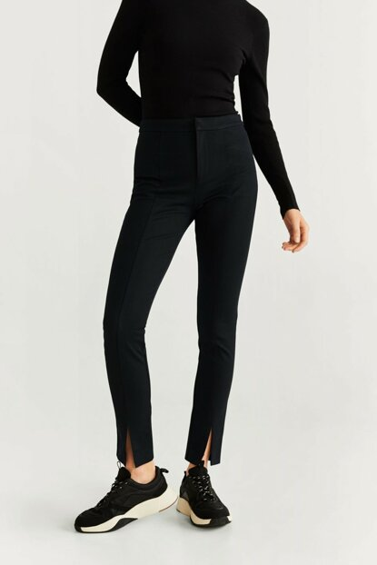 Women Black Trousers 57017689