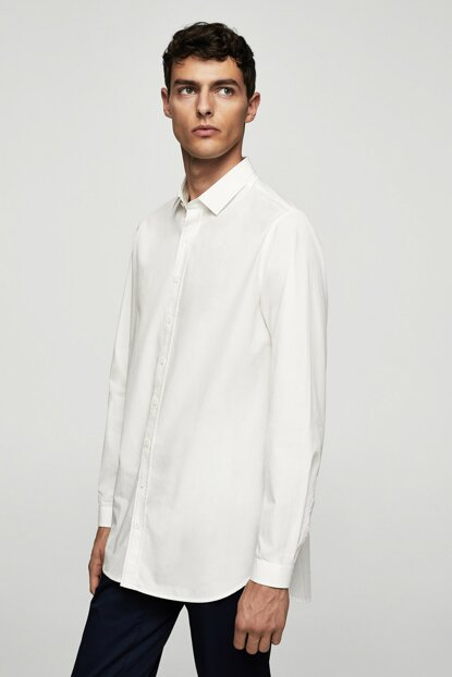 Men's White Shirt 13059034