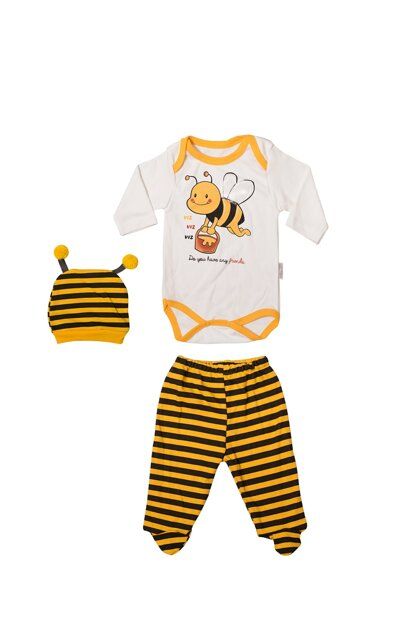 Bee Printed Badi and Hat Team VIP4883