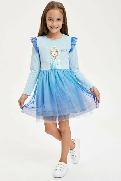 Frozen Licensed Knitted Dress M1328A6.19AU.BE300