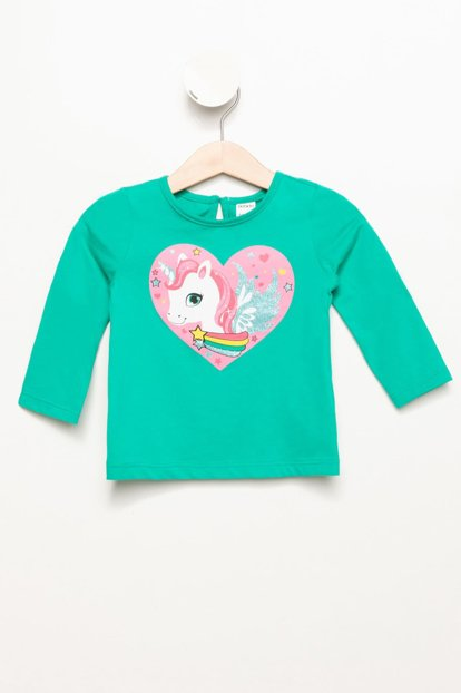 Green Baby Girl Baby Girl My Little Pony Printed Long Sleeve Body K5354A2.19SP.GN340