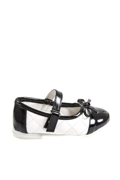 Baby Girl Shoes Black / White 14YKCAYK1285_00-0118 14YKCAYK1285_00-0118