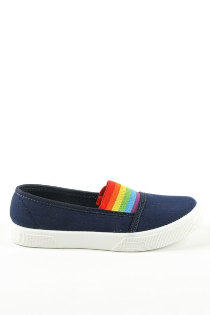 Navy Blue Children Shoes A4107-19