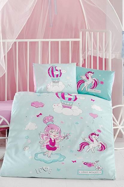 Clasy Ranforce Baby Linen Set Little Princes CLASY-BEBEK-NT-LITTLE-PRINCES