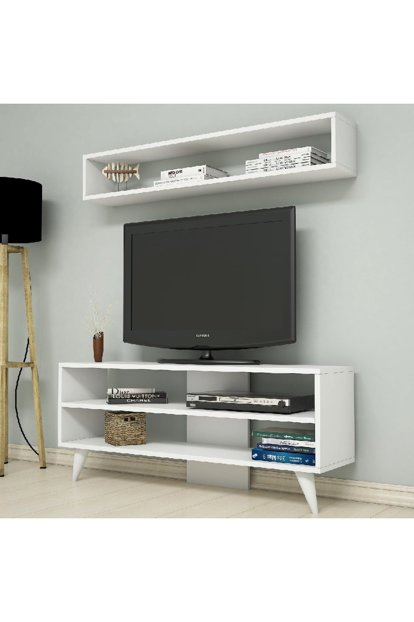 Boom White Tv Unit PUTV4026
