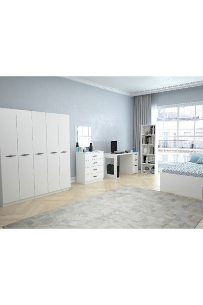 Texas 5 Teen Room (Bright White) 123TEKSAS009