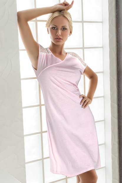 Long Combed Nightgown 001-018732
