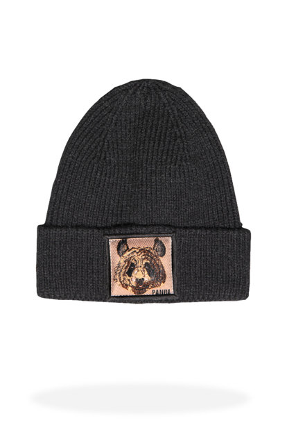Men's Black Beanie - Jfbn18W04
