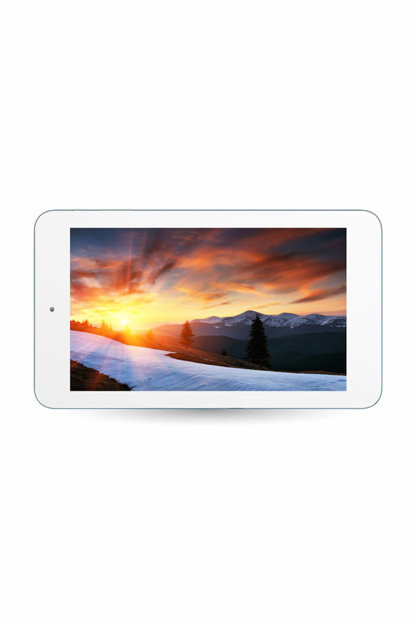 "7 ""Tablet 7 HD Panel 1GB DDR3 1.5GHz x4 Core 8GB 0.3-2.0MP Dual Camera White Android Tablet Pc DC-71B"