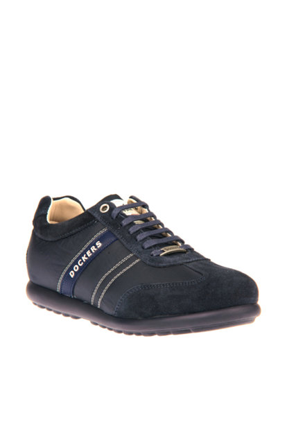 Genuine Leather Navy Blue Men's Shoes 220501 000000000100234600