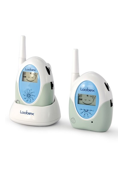 Loobex Lcd Screen Baby Listening Walkie Talkie 2614 Blue LOX-LBX2614