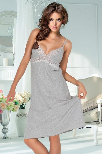Ruched Combed Nightgown 001-018734