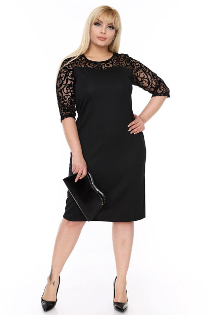 Women's Black Dress 17774
