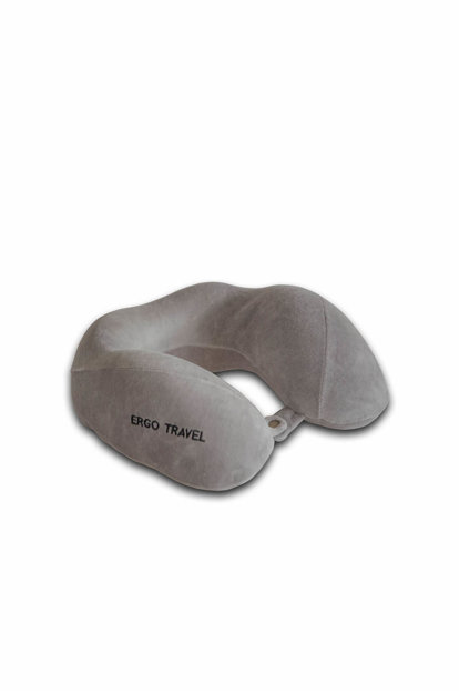 Visco Foam Orthopedic Neck Comfort Gray Travel Pad Visco Cushion 1542513.009