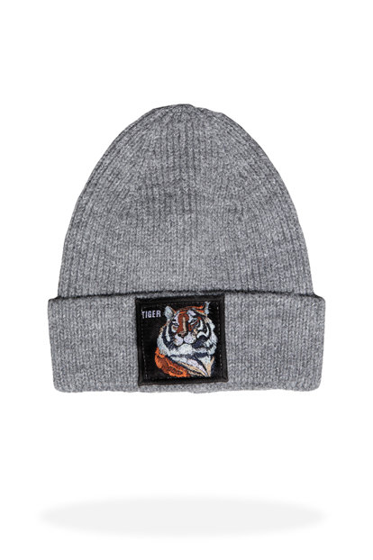 Men's Gray Beanie - Jfbn18W04