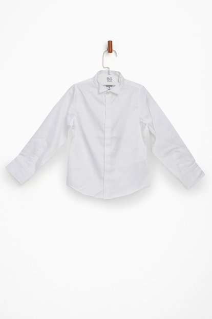 Boy White Shirt NS17FWF3608