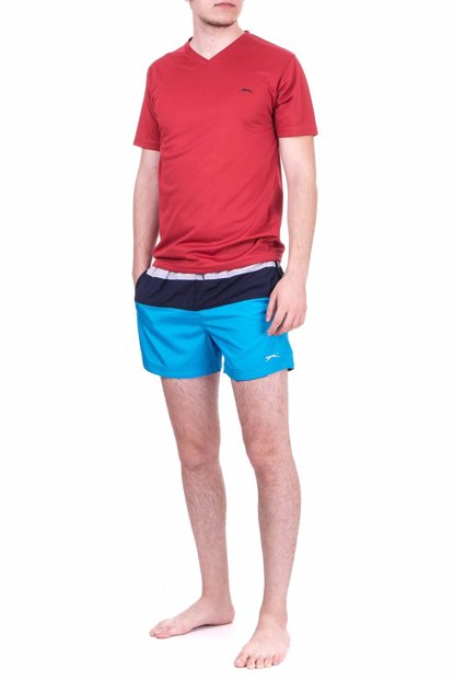 Men's Turquoise Sea Shorts - Soul - ST18SE031-840