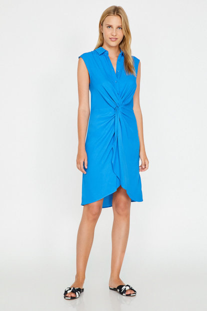 Women's Blue Dress 8YAK82393UW 8YAK82393UW