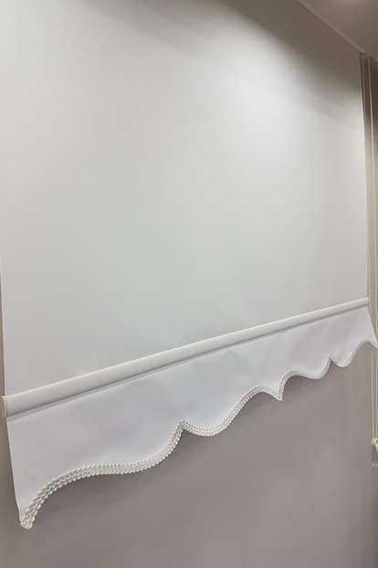 160X200 Flat Ecru Roller Blinds MS1202 8605481033298
