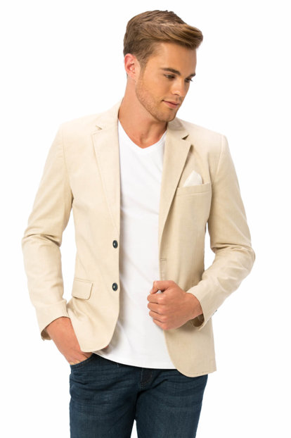 Young Men's Beige Jacket 8S5100Z6 8S5100Z6