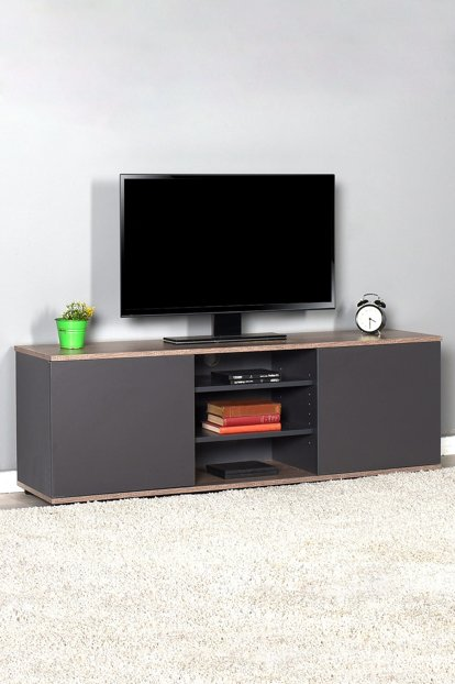Flat Line Max Two-Stand Three-Stand TV Stand - Latte / Anthracite TVC-520-LA-1