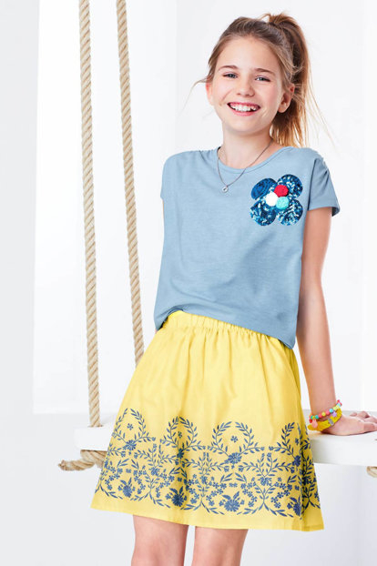 Children's Organic Cotton Skirt Yellow 94194 94194