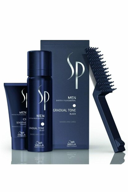 SP Men Gradual Tone Pigment Mousse Black 60 ml 8005610580685