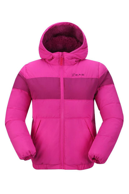 2As Aneto Children's Coat Pink / Purple 2Asw17W050002Pnkpk01